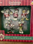 Disney Mickey And Friends Special Complete Box Christmas Ornaments Set Of 5 2018