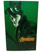 Movie Masterpiece Avengers Loki 1/6 Scale Action Figure Hot Toys From Japan