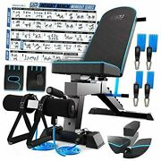 Adjustable Weight Bench Workout Bench Press - Strength Training Benches -