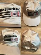 Vintage Rare Coors Light The Silver Bullet Stitched Snapback Metallic Hat