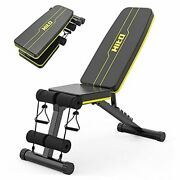 Weight Bench, Adjustable Weight Bench, Strength Training Benches For Yellow 2