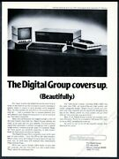 1977 The Digital Group Computer System Photo Vintage Print Ad