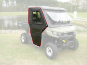 Fits Can Am 2016 2017 2018 2019 2020 Defender Steel Doors Only For Cab Enclosure