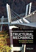 Structural Mechanics Modelling And Analysis Of Frames And Trusses By Dahlblom