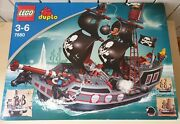 New Lego Duplo 7880 Large Pirate Ship Discontinued Set 2006