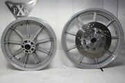 16 And 19 Fxr Dyna Sportster Mag Wheels + Front Rotor Harley 1999 Down Eps24200
