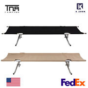 Tnr Outdoor Portable Folding Camping Bed Sleeping Bed Tent Cot Portable Hiking