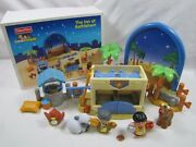 New Fisher Price Little People Christmas Nativity The Inn At Bethlehem Keeper
