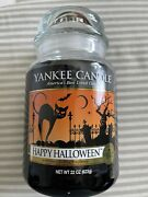 Yankee Candle Halloween Collection 12 Set Large Jar Candles. Many Discontinued.