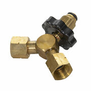 Stansport 187 Stansport Y Connector Bulk Tank Female Fittings Outdoor Bbq New