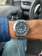 Omega Seamaster Diver 300m 36mm Blue Dial Automatic Bond Watch. Great Condition