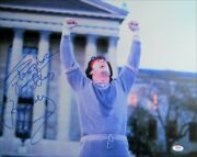 Sylvester Stallone Signed Autographed 16x20 Photo Rocky Inscribed Psa Aj57604