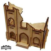 Knights Of Dice Terrain 28mm Gothic Ruins - Building 4 Pack Sw