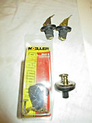 2 New Moeller Boat Deck And Bait Well Drain Plug 3/8 In 2 Used