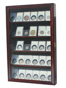 Collector Ngc Pcgs Icg Coin Slab Display Case Rack Wall Cabinet Coin-cc01
