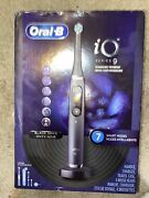 Oral-b Io Series 9 Electric Toothbrush With 4 Replacement Brush Heads, Black Ony