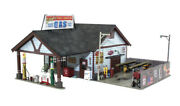 Woodland Scenics O Scale Built-up Building/structure Ethyl's Gas And Service