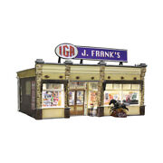 Woodland Scenics O Scale Built-up Building/structure J. Frankand039s Grocery
