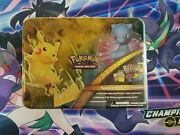 New 2017 Pokemon Trading Card Game Shining Legends Collector Chest Lunch/box