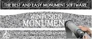 Winpcsign Monument Software. Create Traditional Headstones