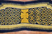 Antique Chinese Ningxia Saddle Horse Cover Rug Size 2and0391and039and039x4and0399and039and039