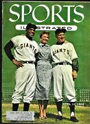 1955 Sports Illustrated Willie Mays Ny Giants Baseball Cards  Excellent Plus