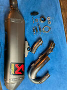 Akrapovic Kx250f Race Exhaust System 2013-2016 - Used - Less Then 8 Hours