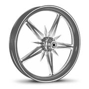 Dna Threat Chrome Forgandeacute Billet 16 X 3.5 Arriandegravere Harley Touring Roue