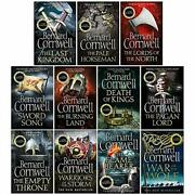 The Last Kingdom Series 11 Books Collection Set 1-11death Of Kings,warriors O