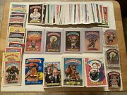 Garbage Pail Kids Cards Gpk Lot Of 430+ With 1985 Series 1 Adam Bomb And More Look