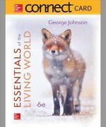 Connect Access Card For Essentials Of The Living World Hardcover By Johnson...