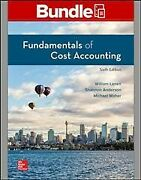 Fundamentals Of Cost Accounting + Connect Access Card Paperback By Lanen Wi...