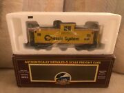 Mth Premier Chessie 20-9104l O Scale Extended Vision Caboose New