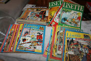 Lot 70 Magazines Newspapers Comics Lisette Of 1954 To 1967 Vintage Tbe