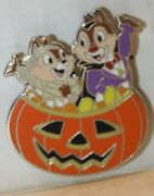 Disney Halloween Chip N Dale In Jack O Lantern Only From Holiday Booster Set