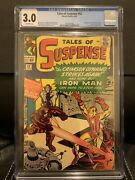 Tales Of Suspense 52 - 1964 - Cgc 3.0 1st Appearance Of Black Widow