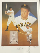 Ralph Kiner And Christopher Paluso Signed18x24 Artist Proof Lithograph 18/50 Jsa