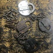 Vintage Adlake Penn Central Railroad 76 Locks Lot Of Four With Chains