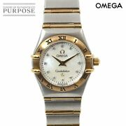 Omega Constellation Mini Combination 1262 75 Women And039s Wristwatch