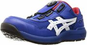 Asics Working Safety Shoes Win Job Cp209 Boa Blue / White Free Shipping
