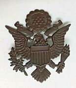 Ww1 Us Army Officer's Hat Badge