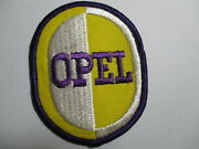Opel Vintage Patch Car Auto Wheels Motor Vehicle Not A Reproduction Nos