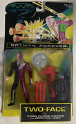Vintage 1995 Kenner Batman Forever Two-face Cannon And Good Evil Coin Nos