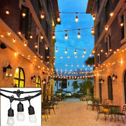 Lot1/2/5/10 48ft Outdoor Commercial Grade Patio Globe String Lights 24 Bulbs