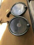 1920-30andrsquos Packard Buick Studebaker Safety Trippe Lights Pair Accessory