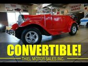 1929 Ford Model A Phaeton 29 Ford Roadster Convertible Hotrod 302 V8 Automatic 30 31 32