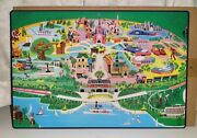 Set Of3 Mickey Mouse And Friends Placemat Walt Disney World 50th Anniversarynew