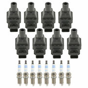 Bosch 8 Ignition Coils And 8 Platinum Spark Plugs 0.031 Kit For W129 W140 W210 V8