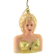 Holiday Ornament Madonna Glass Pop Singer Icon Blonde Ambition Go6415
