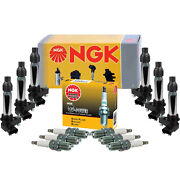 Ngk 6 Ignition Coils And 6 G-power Platinum Spark Plugs Kit For Suzuki Xl-7 2.7 V6